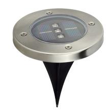 18W 110V Edelstahl Shell IP65 im Freien bunte LED begrabene Lichter