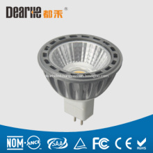 3W LED MR16 mini spotlight,Anti-glare,250lm Aluminum cup,Ra80 2700-6300K