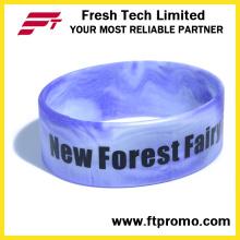 Hot vendendo personalizado impresso pulseira de silicone