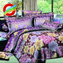 ensemble de literie en textile à usage domestique imprimé 100% polyester