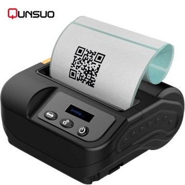 Printer Reskrim Bergerak 80mm Bergerak Barcode Mini Thermal Pencetak Thermal