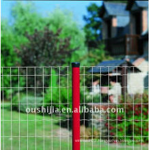 PVC coated and galvanized welded fencing (manufacturer price)
