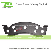 Back Plate Disc Brake Pads