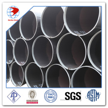 API 5L X56 Black coated Carbon LSAW pipe
