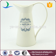 YSj0012-01 Wholesale modern decal dolomite jug for bathroom