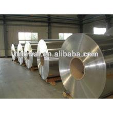 Bobina de aluminio de alta calidad para la construcción, industrial, transformador 8011, acabado del molino