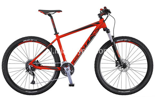 Bike Steel 18 Speeds Mountain Bike