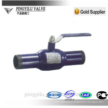 carbon steel fully welded ball valve