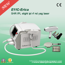 Professional Elight IPL Epilation and Q-Switch Swicth Tattoo Removal Equipment
