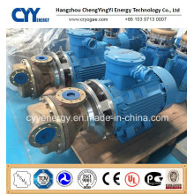 Pompe centrifuge à eau à l'huile d'argon à l'oxygène liquide cryogénique à l'azote