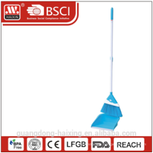 Haixing Colorful household plastic broom and dustpan