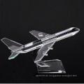 Geschäft Dekoration Geschenke K9 Crystal Flugzeug Modell