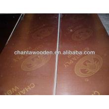 Contrachapado de madera de 18mm con núcleo de álamo