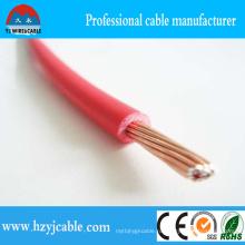 Красная изоляция из ПВХ 0.75мм2 300 / 500В электрический одиночный кабель