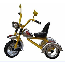 Cute Kid Tricycle Soild Gold Color