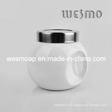 Pote de contenedor de cerámica de almacenamiento (WKC0336A)