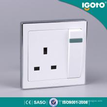 Igoto B9013 1gang 13A Comutado Soquete Interruptor Elétrico Soquete Elétrico e Soquete