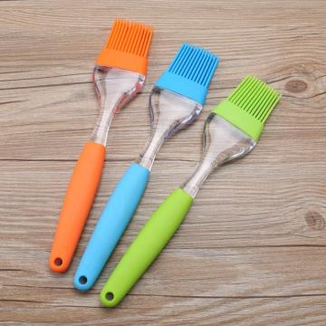 PP handle Silicone Head BBQ Grill Brushes