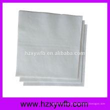 Serviettes en papier à découper à une feuille Serviettes en papier blanc Serviettes Airlaid