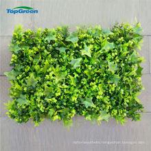 artificial green verticial wall plant fence for garden