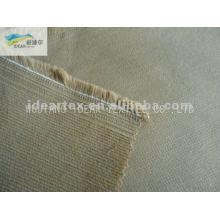 Telas de pana de banda elástica de algodón de 16W