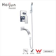 Haijun Productos comercializables Artístico montado en la pared de baño y grifo de la ducha