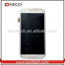 Nuevo reemplazo para la pantalla del LCD de la galaxia S4 I9500 de Samsung con el montaje del capítulo
