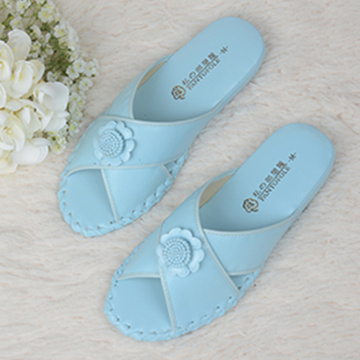 Women Roome Wear Pansy Lady Indoor Slippers High Quality
