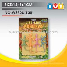 Shantou produits neufs gecko model rubber soft toys wholesale