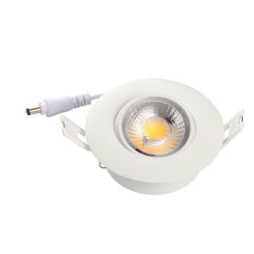 ETL 8W Dimmable 700lm Gimbal LED Encastré