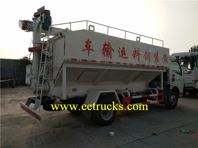 12 CBM Dry Bulk Powder Trucks