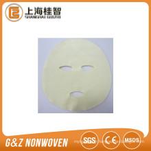 Spunlace soie tencel cupra algues masque facial matière première (usine)