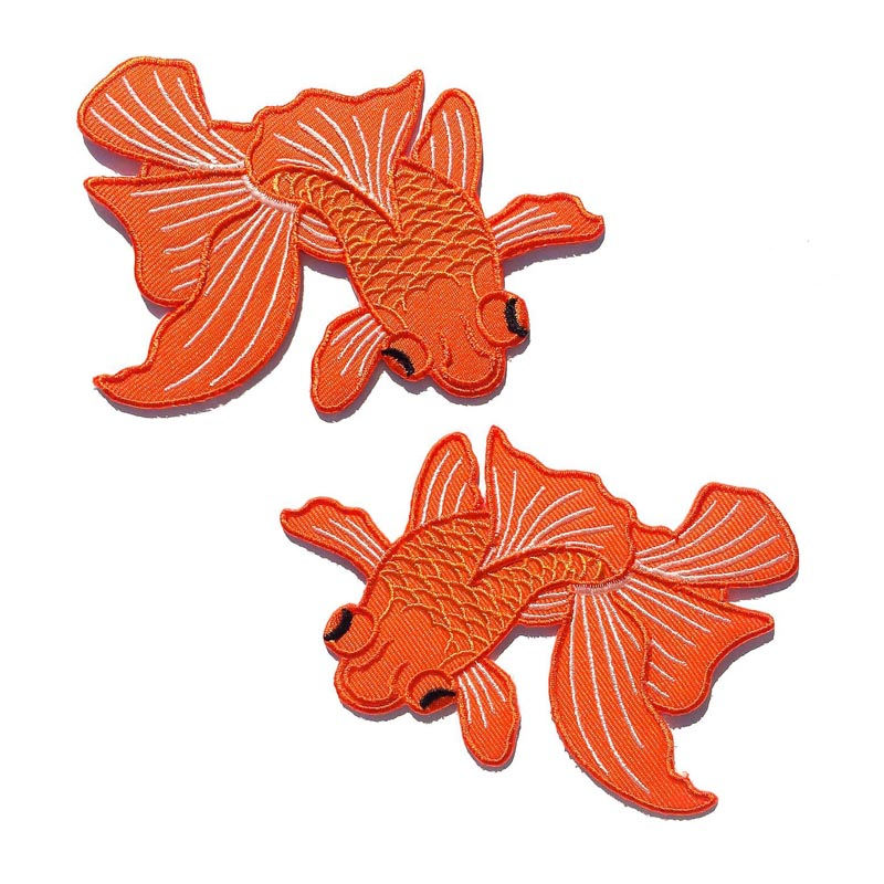 Japanese Koi Fish Patches