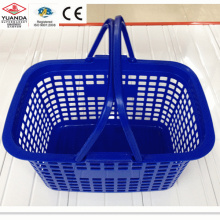 Plastic Shopping Goods Two Handle Basket