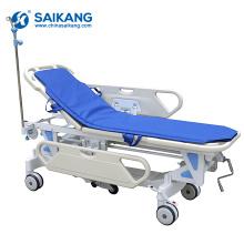 Chariot de patient d'urgence d'hôpital de station de travail de SKB041-1 en métal