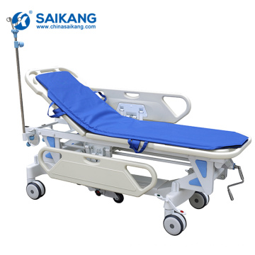 SKB041-1 Metal Workstation Hospital Emergency Patient Trolley