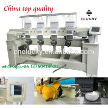 2016 máquina de bordar de quatro cabeças / máquina de tricô para bordados de boné com preço barato e melhor qualidade (EG1204CH)