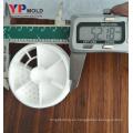 fabricante de moldes de inyección de la tapa del cubo de la leche en polvo de los PP del fabricante de yuyao / fabricante del molde