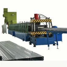 Rolo de aço galvanizado da placa da caminhada do andaime que forma a máquina