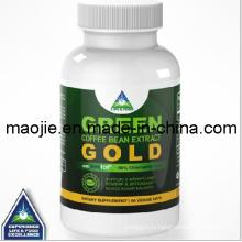 Золото экстракт зеленого кофе в зернах для дополнения потери веса