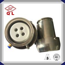 Válvula de retención de aire acondicionado de grado sanitario de acero inoxidable