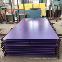 Backsplash colorful purple back painted lacquer glass