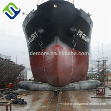 Marine boat launching landing salvagedrop Marine Airbags for Marine Projects