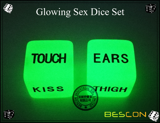 Glowing Sex Dice Set4
