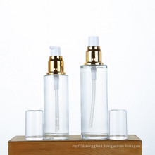 Glass Sterile Airless Pump glass  Bottle for Refillable Cosmetic Container