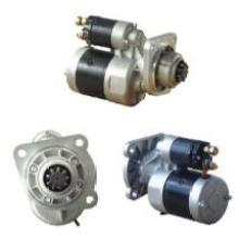 Démarreur tracteur 12V pour Bosch 0001362302 Iskra 11.130.605 John Deere Re503093 Lucas Lrs2385 (OEM 9142740)