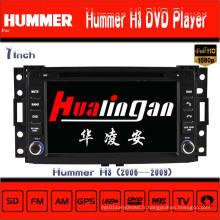 Lecteur DVD pour voiture pour Hummer H3 Navigation GPS Hualingan