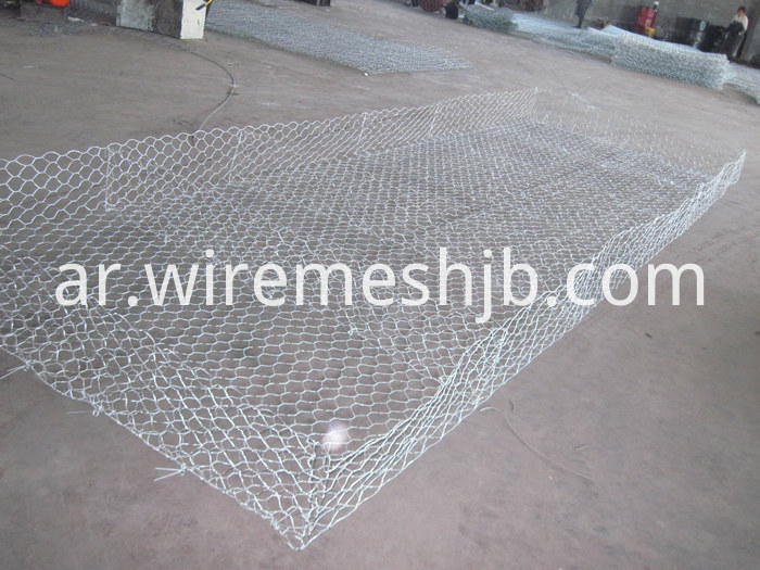Hexagonal Mesh Gabion Mattress