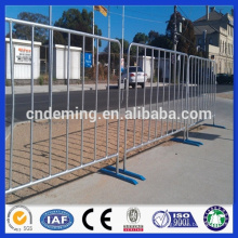 hot sale new product powder coated traffic barrier (with bridge or flat feet)