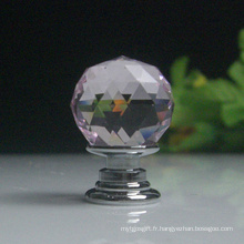 Prix pas cher Clear Cabinet Cabinet Knobs Pull 20mm